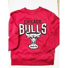Chicago Bulls Boys Sz M 8 Windy City Classics NBA Crewneck Sweatshirt