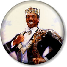 "Eddie Murphy Akeem Joffer in Coming to America 1"" Pin Button Badge Movie Comedy"