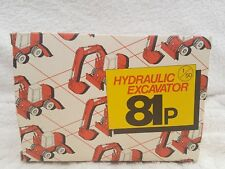 case poclain 81p by conrad in 1/50 scale in original packaging