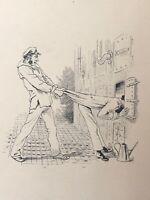 Un Aspiring Marine Too Zélé Drawing Anonymous to 'Ink towards 1870