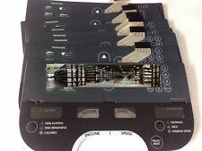 precor 932i Running machine Lord control Membrane Keypad ##65T5