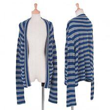 Yohji Yamamoto FEMME Stripe Buttonless Cardigan Size 2(K-49998)