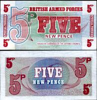 Great BRITAIN BRITISH 5 PENCE England 6th P M47 UNC LOT 10 PCS