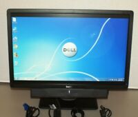 "Dell Professional P2213  22"" Widescreen LCD Monitor w/ Speaker Bar  VGA DVI  ""A"""