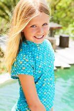 Mahina Mermaid, Mahina  Swimwear, Aqua Rash Shirt Age 8.