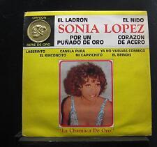 Sonia Lopez - La Chamaca De Oro LP VG LP-16SO-5255 1980 Vinyl Record