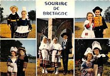 BR25575 Couples d Enfants en costume de Pont Abbe Bretagne 2 scans france