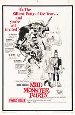 Mad Monster Party? (1969) Boris Karloff Horror movie poster 23.50x36 inches