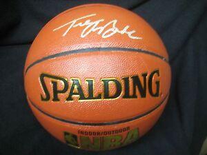 JSA Trey BURKE Signed NBA Basketball Utah Jazz
