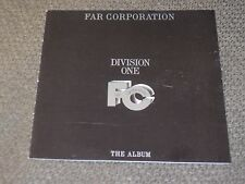 Far Corporation ‎– Division One - The Album. Great AOR CD 1985.Bobby Kimball.