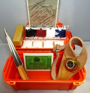 Sailmakers Repair & Rope Splice Kit Inc Needles, RH Adj Palm, Fid, Wax, & Twines