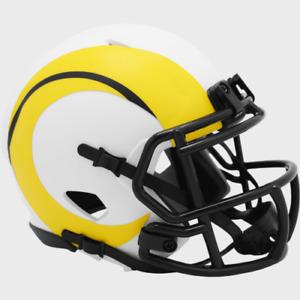 Los Angeles Rams Lunar Eclipse Alternate Riddell Speed Mini Helmet New in box