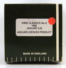 KIM CLASSICS MODELS #6 1992 JAGUAR  XJ6  1:43 (BOX ONLY)