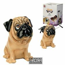 Optipaws Pug Dog (tan) Glasses Holder Ornament Figurine NEW in Box - 24325