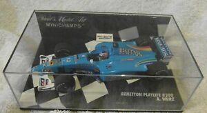 Minichamps 1:43rd Benetton Playlife B200 Alex Wurz F1 2000 Part 430 000012