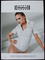 WOLFORD CAPE TOWN WHITE STRING BODY 75511, BODYSUIT, Size 40, UK 14, USA 10, NWT