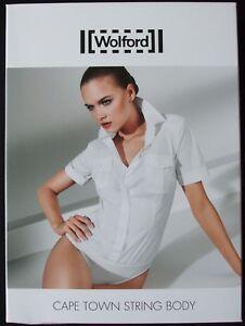 WOLFORD CAPE TOWN WHITE STRING BODY, BODYSUIT Size 40 UK 12-14 USA 10, NWT