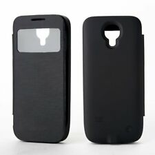 3000mAh Battery Flip Case For Galaxy S4 Mini Backup Cover Charger Power Bank