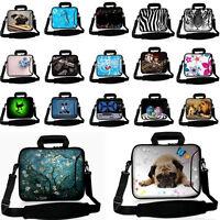 """10"""" Shoulder Bag Carrying Case For 9"""" 10.1"""" 10.2"""" Laptop Tablet Netbook PC"""