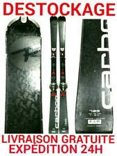 """ski occasion adulte ROSSIGNOL """"CARBON"""" taille:165cm+fixations"""