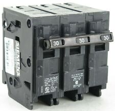 Siemens Q330 3P 30A 240V Plug-In Molded Case Circuit Breaker 10kA@240V
