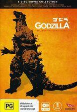 Godzilla-Millennium Series (2013, REGION 4 DVD New)