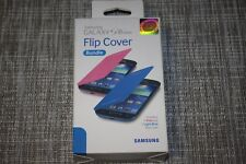 Samsung branded PAIR of flip covers for the S3 MINI!!  #816