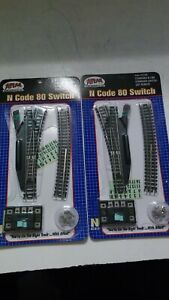 Atlas N Code 80 Remote Switches #2701 Right/#2700 Left
