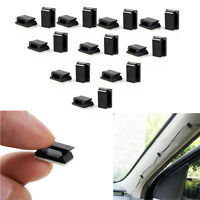 20PC Car Drop Adhesive Clamp Wire Cord Clip Cable Holder Tie Clips Organizer Hot