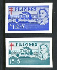 Philippines B50a-B51a, MNH, 1974 T.B.Cross.Dr.Valdes.Veterans Hospital
