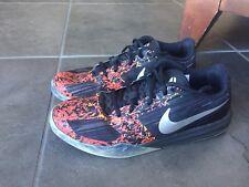 2015 Nike Kobe Mentality 7y Basketball Shoes Black Crimson 705387-010 zoom