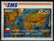Chile 2019 20th Anniversary EMS Express Mail Service