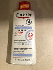 Eucerin Itch Relief Intensive Calming Lotion Menthol Analgesic Lotion New Prod
