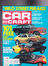 Car Craft Magazine Flame Painting Wild Street Freaks February 1976  FREE US S/H