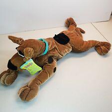 Scooby Doo Plush Stuffed Animal Dog Toy Six Flags Laying Down NWT