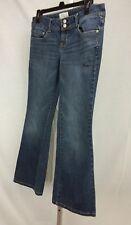 Aeropostale Junior Women 7/8 Short Haley Flare Jeans