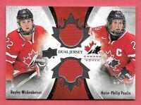 2016-17 Hayley Wickenheiser - Poulin Upper Deck Team Canada Juniors Jersey