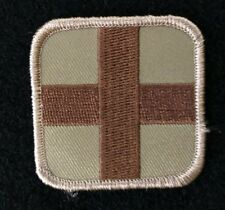 "VELCRO® BRAND Hook Fastener Compatible Patches Medic 2"" Sized Coyote Tan"