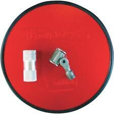 "8 Pk Vortex 9"" Dia. High-Performance Rubber Bumper Ring Drywall Pole Sander Head"