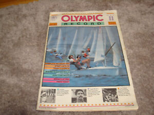 LOS ANGELES 1984 SUMMER OLYMPIC PROGRAM Greg Louganis, Mary Lou Retton Rose Bowl