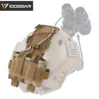 IDOGEAR Tactical Pouch MK2 Battery Case Accessory for Helmet 500D Nylon Multicam