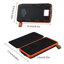 20000mah Solar Power Bank Battery Charger For iPhone Samsung & All Phone