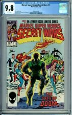 MARVEL SUPER HEROES SECRET WARS 11 CGC 9.8 WP New Non-Circulated Case MARVEL1985