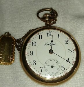 Antique Rockford Pocket Watch, 17 Jewels