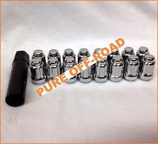 ITP Chrome Lug Nuts 12mm x 1.5 w/ Socket (Set of 16) Polaris RZR S 900 (2015+)