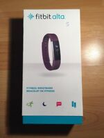 Fitbit Alta Wireless Activity Smart Fitness Tracker Small Plum