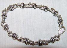 "Premier Designs Chain Bracelet Silver Tone 8"" Womens Jewelry"