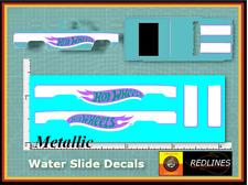 1/64 '83 Chevy Silverado 'Teal' Metallic CUSTOM Decal SCR-0298