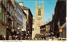 Derbyshire: The Cathedral and Irongate, Derby - Posted 1983