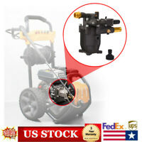Fit 3/4'' Horizontal Ex-cell Cold Water Pressure Washer Pump Head 3000PSI 2.5GPM